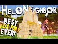 BUILDING THE ULTIMATE BOX FORT IN HELLO NEIGHBOR USING GIANT BOX TRICK! | Hello Neighbor Beta 3 Game