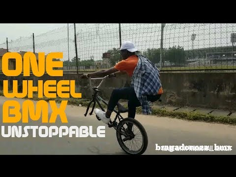 INTENTIONAL AND DELIBERATE ONE WHEEL BMX