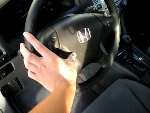 2007 Honda Accord Low + High Horn Sound