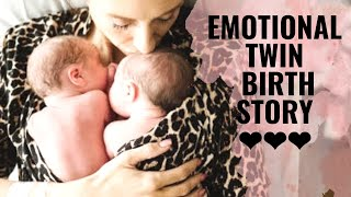 Page Twins Birth Story: Emotional Twin Delivery!