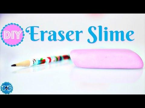 Easy Eraser Slime!  No Eraser Shavings Needed!