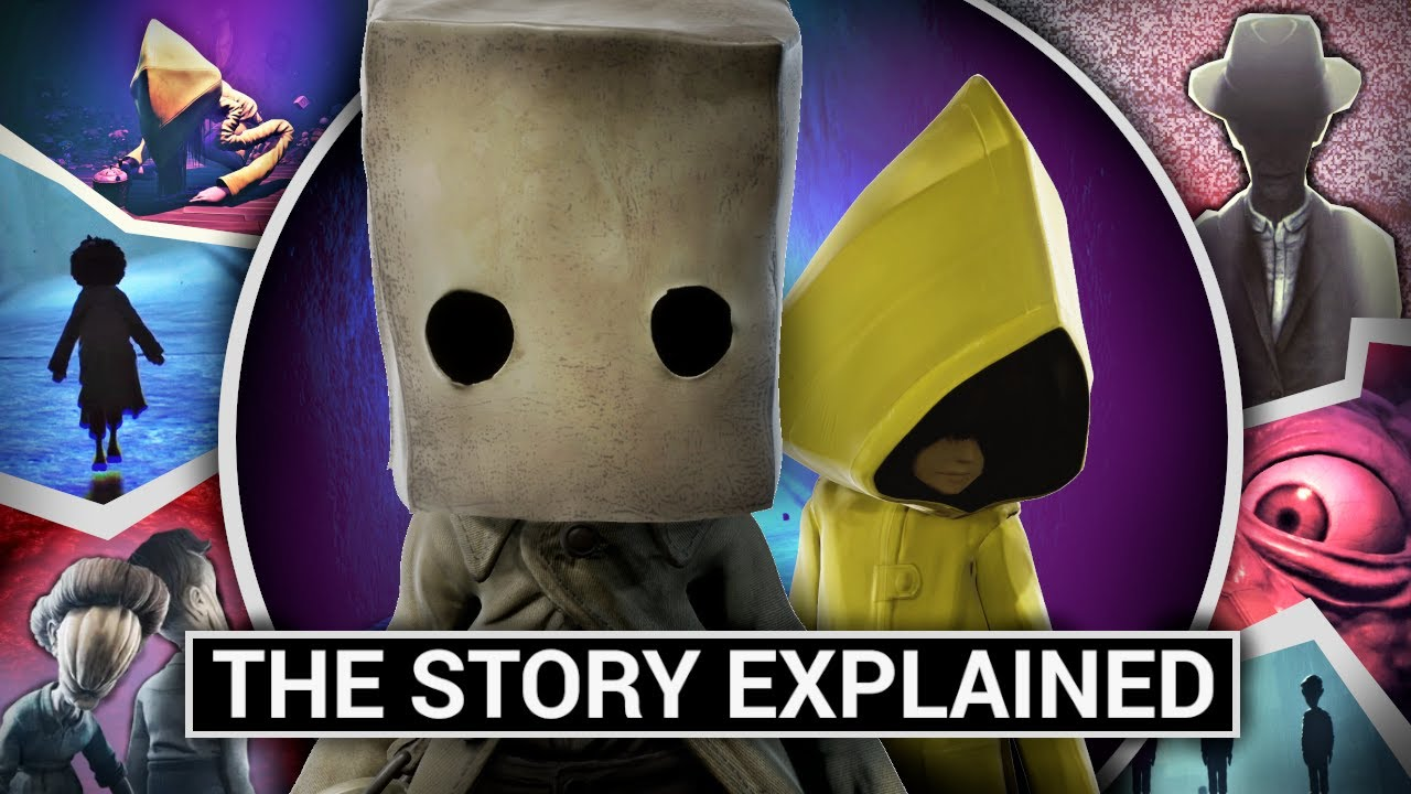 Little Nightmares 2: The Story & All Endings Explained (Horror Game Theories)