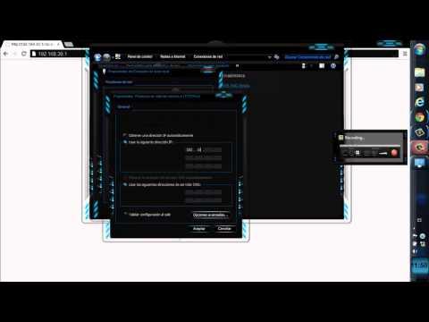 Configuración LinkSys WRV200
