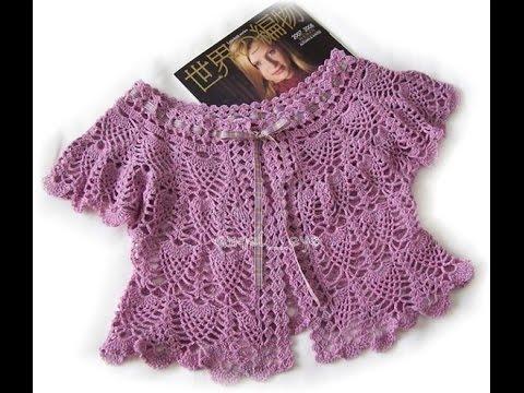 crochet shrug| how to crochet vest shrug free pattern tutorial for beginners 13