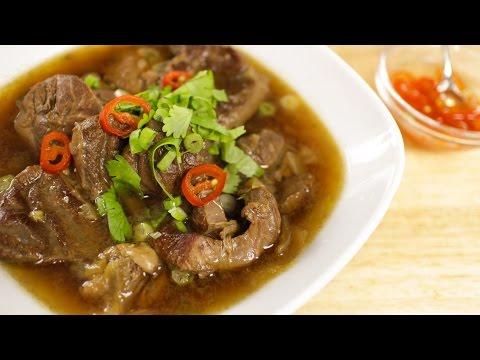 Thai Beef Stew Recipe เนื้อตุ๋น - Hot Thai Kitchen!