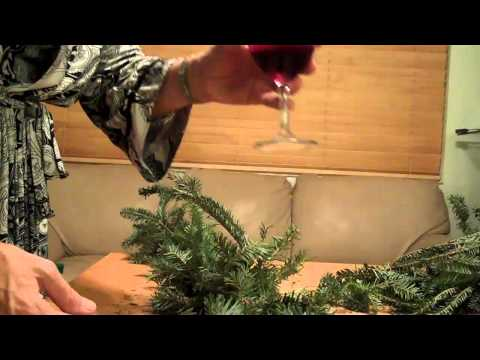 How to make Christmas Garlands