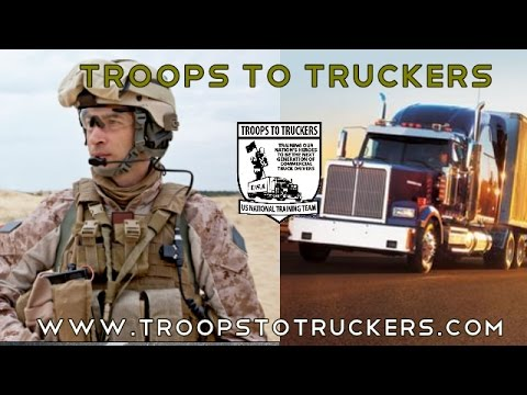 Get a CDL Class A License to Drive a Truck - Veterans