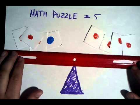 Math Puzzle - Ball Balance