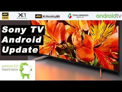 How to install Android Marshmallow 6.0.1 on the Sony Bravia TV 2017 | Tutorial