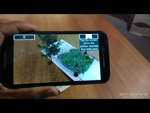 Play Augmented Reality game on Android with help of 10₹ note 😱 ✓