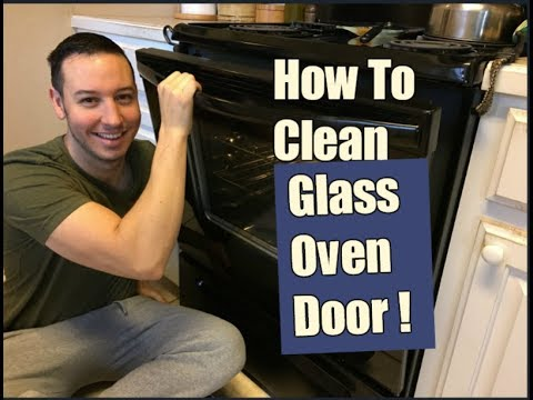 How To Clean an Oven Glass Door | Inside & Out