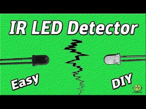 IR Detector Project | IR Sensor | Photo diode Circuit | Easy Electronic | DIY