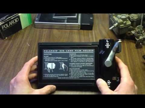 How To: Polaroid 545 Film Holder Disassembly, Cleaning, & Reassembly