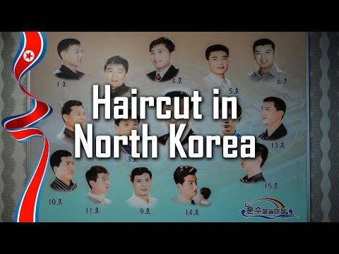 Haircut in North Korea