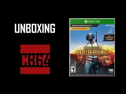 PlayerUnknown's Battleground (PUBG) Xbox One Unboxing