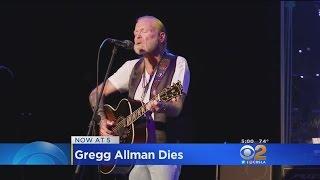 Rock Legend Gregg Allman Dies At 69