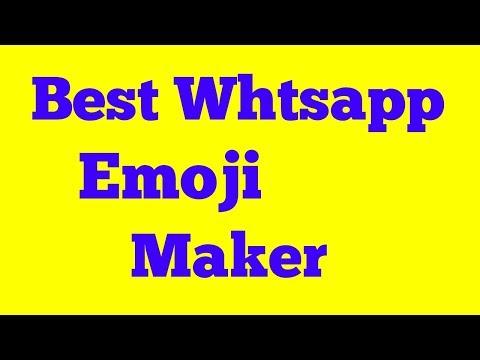 How to Create Emoji for Whatsapp