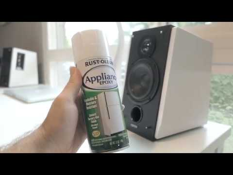 Painting Speakers White - Edifier RT1700BT