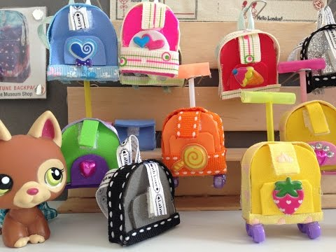 LPS school backpack and trolley