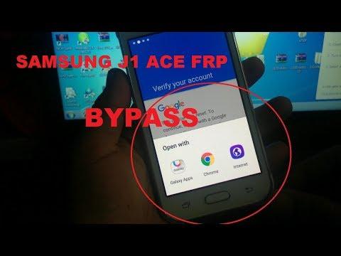 SAMSUNG J1 ACE FRP BYPASS/GOOGLE ACCOUNT BYPASS