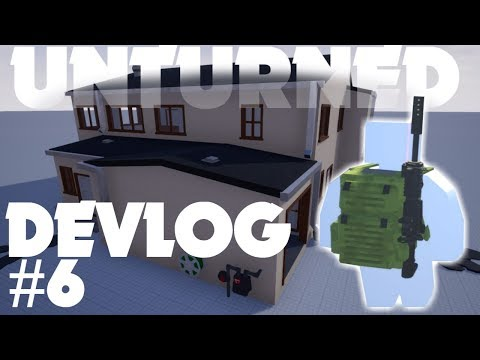 Unturned 4.0 Devlog #006! 4.0 on CONSOLE?? New Houses, Holstered Items, Ability Stats, & More!
