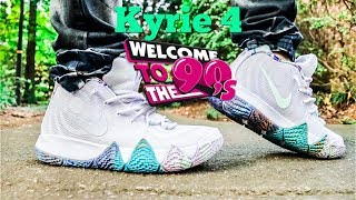2e2347467322 04 41 · Nike Kyrie 4 90s Review   Fire On Feet!!