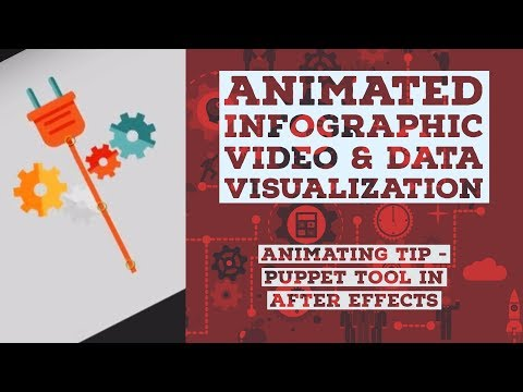 Animating TIP - Puppet tool in After Effects - Animated Infographic Tutorial [21/48]