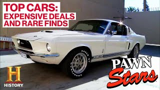Pawn Stars: TOP 5 CLASSIC CARS (Rare Finds & Big $$$ Deals) | History