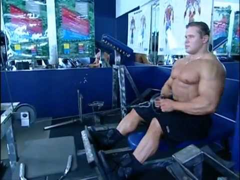 Muscle & Fitness Training System - Back-legs