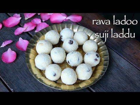 rava ladoo recipe | rava laddu recipe | how to make sooji laddu or sooji ladoo