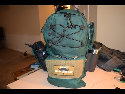 Sewing for guys: retrofitting a pocket on a backpack