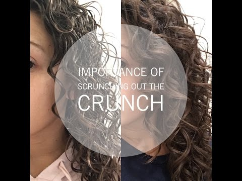 Importance of scrunching out the crunch