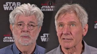Star Wars 40 Years - George Lucas, Harrison Ford, Mark Hamill & Peter Mayhew (2017)