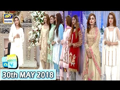 Good Morning Pakistan - Eid collection - 30th May 2018 - ARY Digital Show