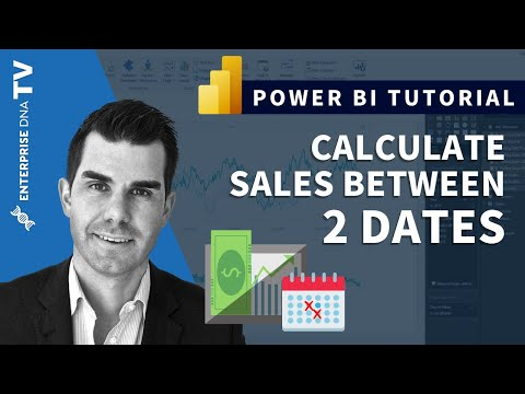 Calculate Amounts Sold Between Two Dates In Power BI w/DAX