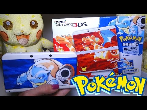 Opening: Pokemon 20th Anniversary Edition NEW Nintendo 3DS Bundle with Red & Blue Versions