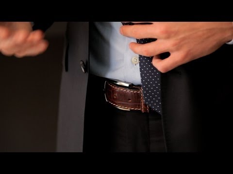 How to Pick a Belt | Men's Fashion