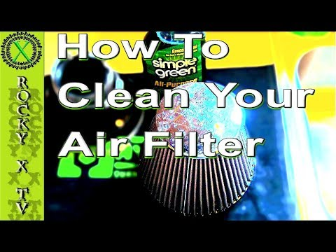 How To Clean Oil-Less Reusable Air Filter. K&N, Airaid, aFe & Others