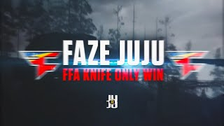 JuJu Smith-Schuster Wins COD FFA With Knife Only! FaZe JuJu Free-For-All Call of Duty WW2 Game