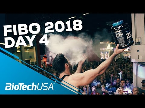 Fibo 2018 - Day 4 - BioTechUSA