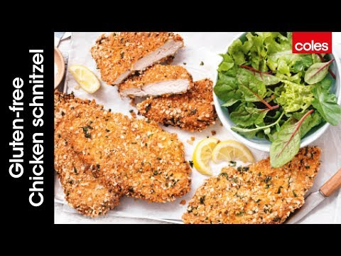 How to make gluten-free chicken schnitzel