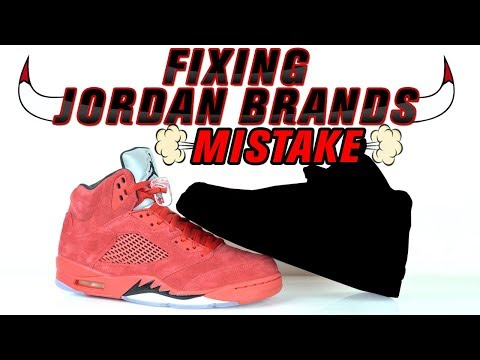 Fixing Jordan Brands Mistake - Raging Bull 5 Custom by Vick Almighty