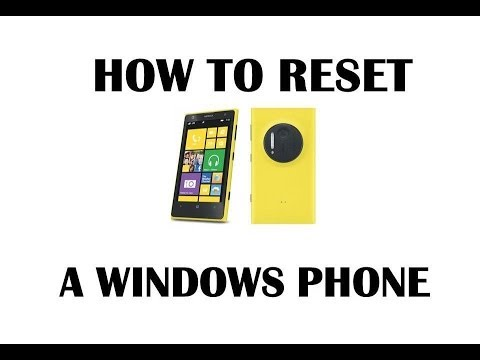How To Reset A Windows Phone (Hindi)
