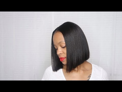 Blunt Bob Pronto Quickweave Using Only ONE Bundle?! STEP by STEP