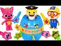 Let39s Play Baby Shark Pirate Play Roulette Baby Shark Vs Mommy Shark Who Will Win PinkyPopTOY