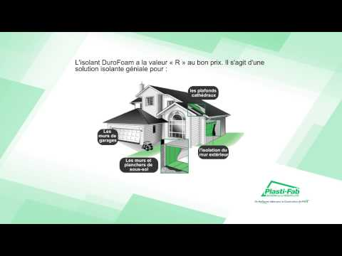 DuroFoam Insulation Commercial FRENCH
