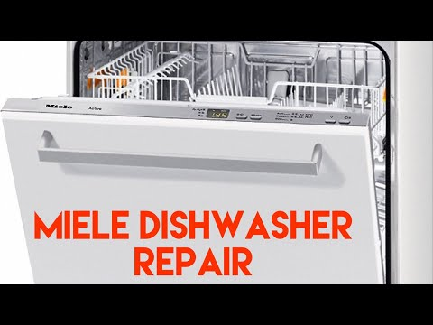 Miele Dishwasher Won't Start - It Just Drains - EASY FIX