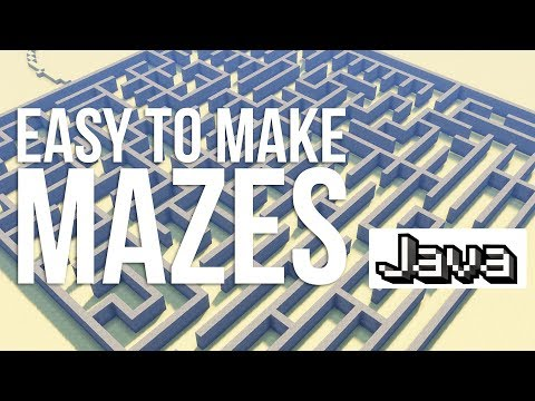 The Best Way to Generate Mazes in Minecraft