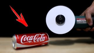 EXPERIMENT: Can You Cut Coca Cola with Paper ?