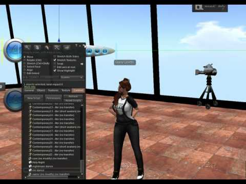 Second Life ULTIMATE dance hud quick tutorial
